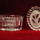 Vintage Waterford Crystal Oval Dresser Jar