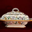 Antique Ashworth Tureen Floral Collectible