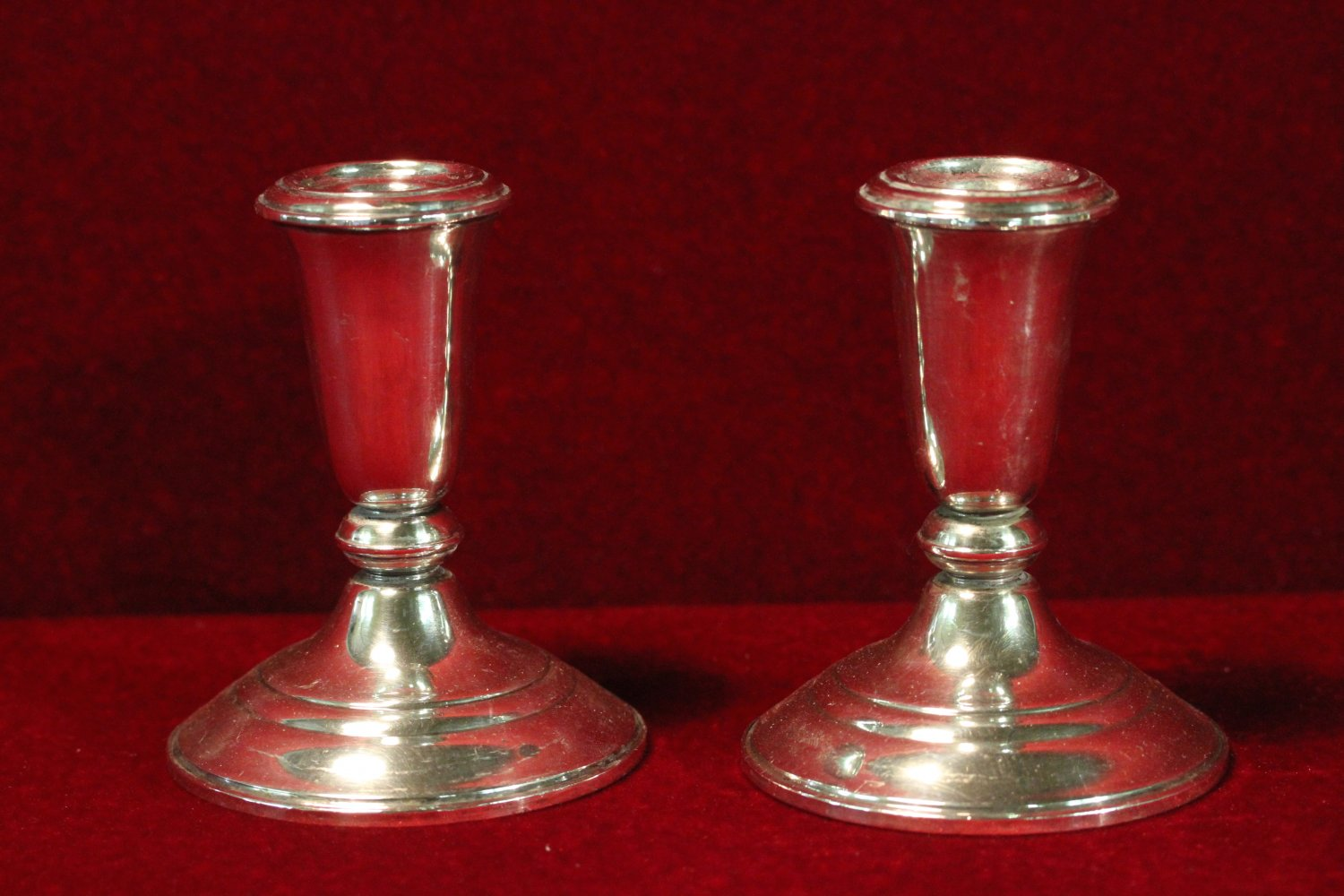 Sterling Atkins Candlestick Holders