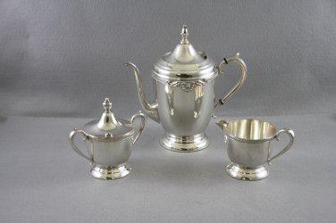 Sheets Rockford  Tea Pot Service Silver Plated