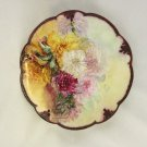 A K Dwenger Limoges Charger Plate Floral Stunning