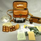 David White Stereo Realist 35mm Camera Field and  Case Carrying Case Filter Lenses Instructions