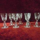 Waterford Crystal Stemware Cordials Kylemore Pattern