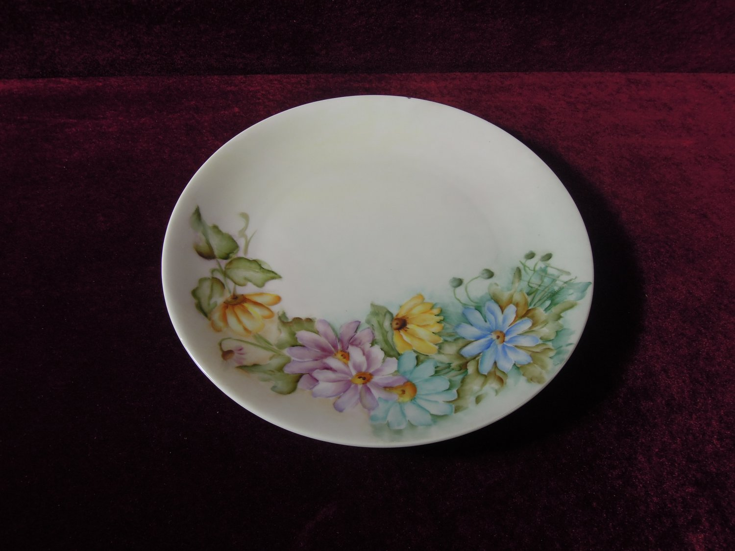 Bareuther Bavaria Charger Plate Floral Signed Germany