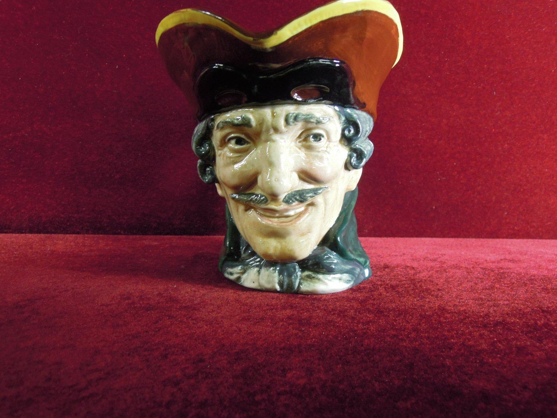 Large Royal Doulton Toby Character Mug Dick Turpin  6.5 Tall