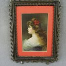 Raphael Tuck & Sons Marguerite Connoisseur Series 2731 Framed Postcard