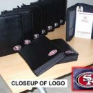 Wholesale 10 Leather San Francisco 49ers Embroidered Organizers
