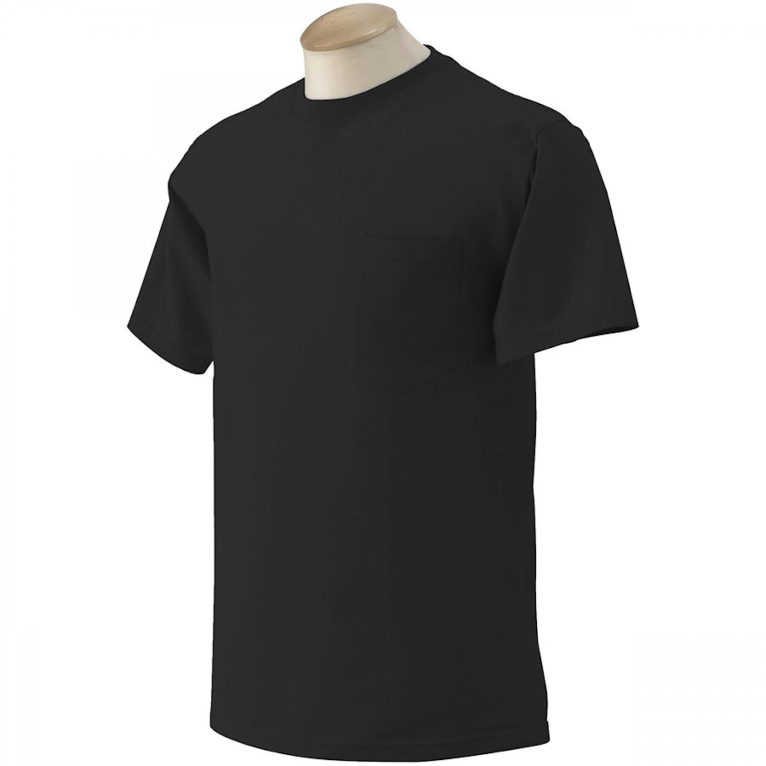 10 gildan big tall mens pocket t shirts wholesale to for Cheap t shirt printing next day delivery