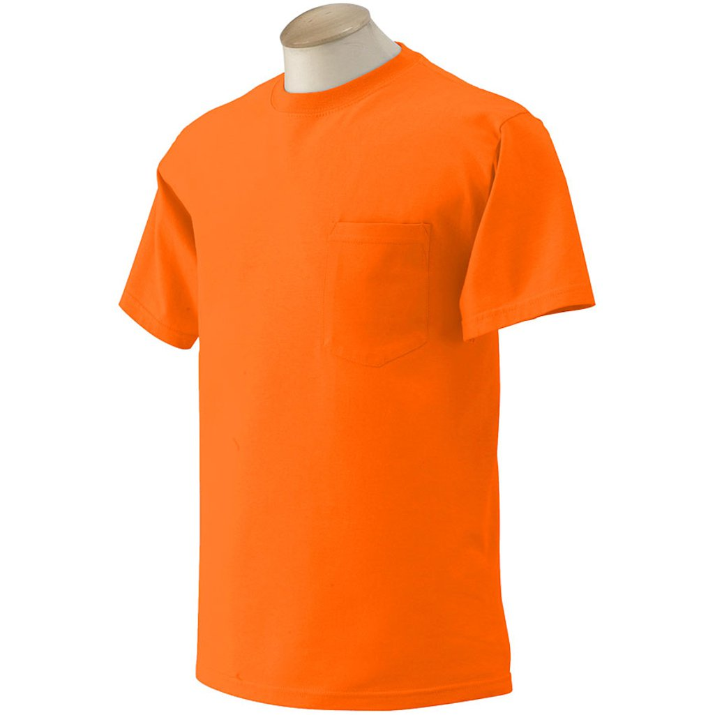 10 Gildan Mens Pocket T Shirts Bulk Wholesale To Public