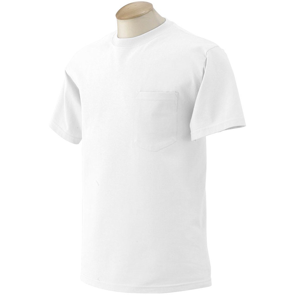 10 Gildan Mens Pocket T Shirts Wholesale To Public Choose