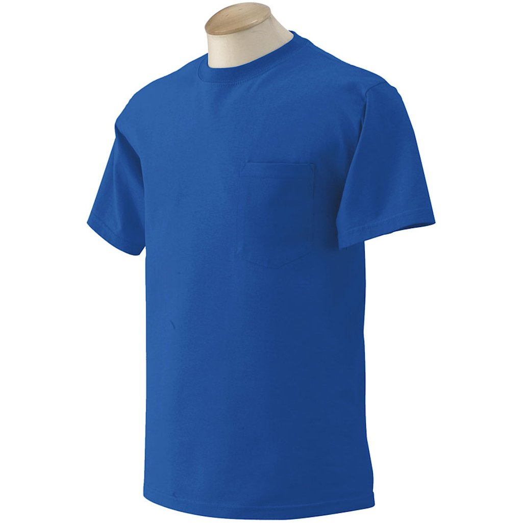 3 GILDAN MENS POCKET T-SHIRTS Bulk Wholesale To Public Choose colors sizes S M L XL #G230