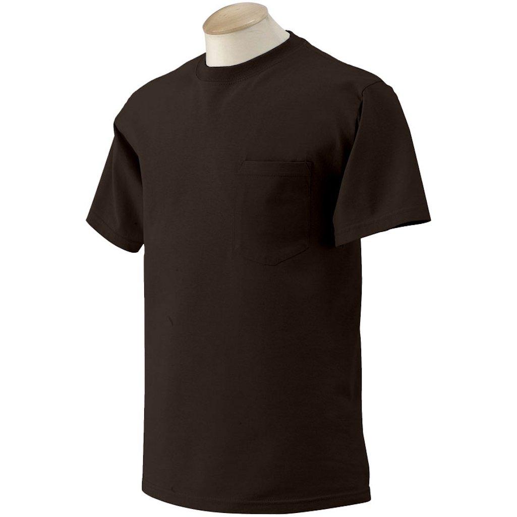 3 GILDAN MENS POCKET T-SHIRTS Wholesale To Public Choose colors sizes S M L XL  #2300