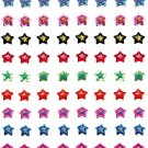 36 Pairs Of Emo Star Earrings PUNK RoCK EMO LOLITA SCENE