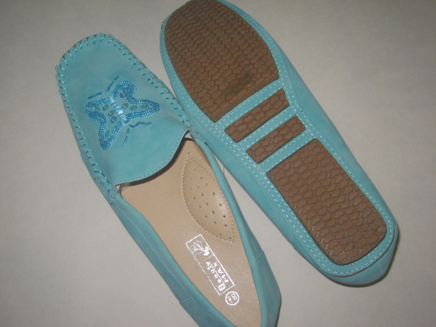 New perfect fit moccasins