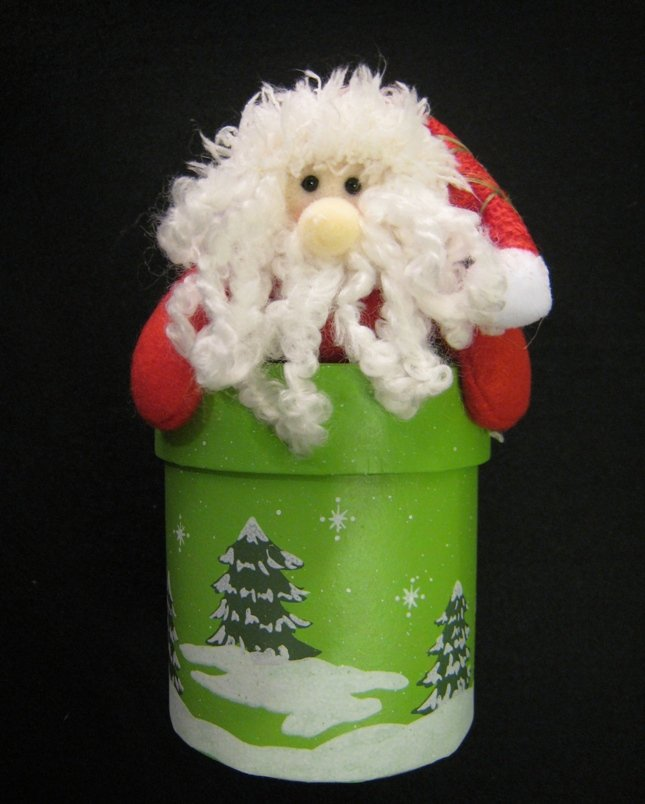 Christmas item - Santa Gift Box (Circle)