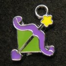 Sagittarius Pendant (Green/Purple)