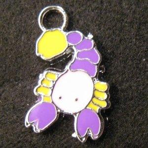 Scorpio Pendant (Purple/Pink)
