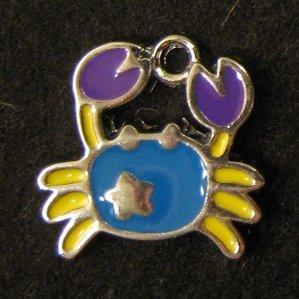Cancer Pendant (Light Blue)