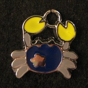 Cancer Pendant (Dark Blue)