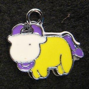 Taurus Pendant (Purple)