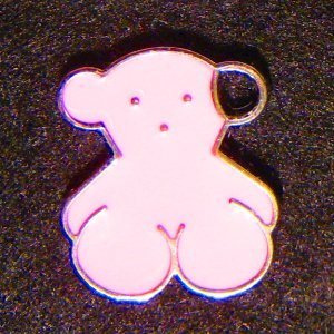 Bear Pendant (Pink)