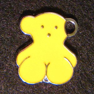 Bear Pendant (Yellow)