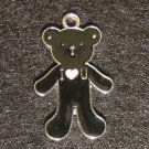 Bear Pendant (Black)
