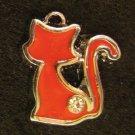 Cat Pendant (Red)