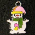 Snowman Pendant (Green)