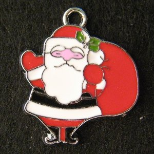 Santa Claus Pendant (Red)