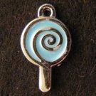 Lollipop Pendant (Light blue)