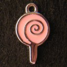 Lollipop Pendant (Pink)