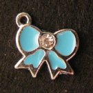 Bow Pendant (Light blue)
