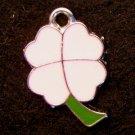 Lucky Clover Pendant (Pink/Green)