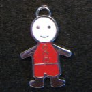 Little Friend Icon Pendant (Red/White)