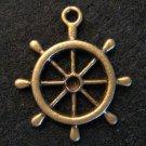 Steering Wheel Pendant (Antique Bronze)