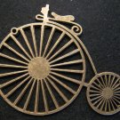 Antique Bicycle Pendant (Antique Bronze)
