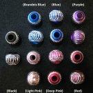 Shiny bead (03) (Assorted color) (20pcs)