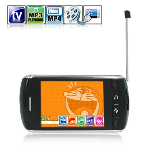 3.2 Inch Super Smart Mobile Phone Support EDGE / GPRS and Wifi