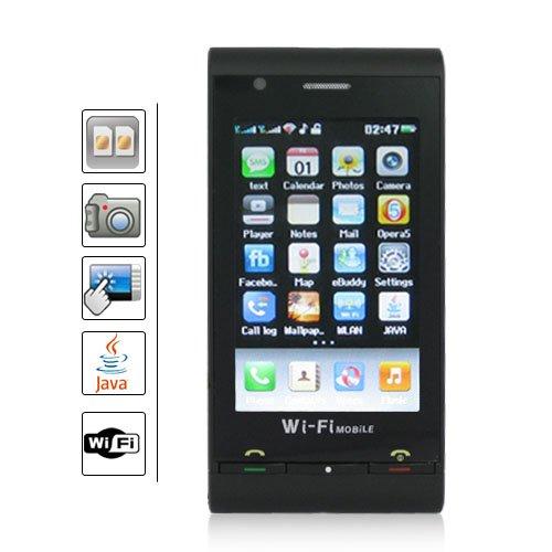 3.0 Inch Touch Screen Dual SIM Quadband Mobile Phone - WIFI