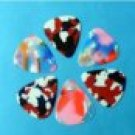 50 pcs New medium 0.71 mm guitar picks Celluloid