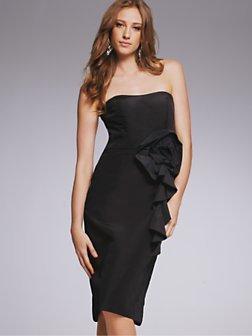 Corsage Bustier Dress