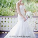 Romantic elegant wedding dress