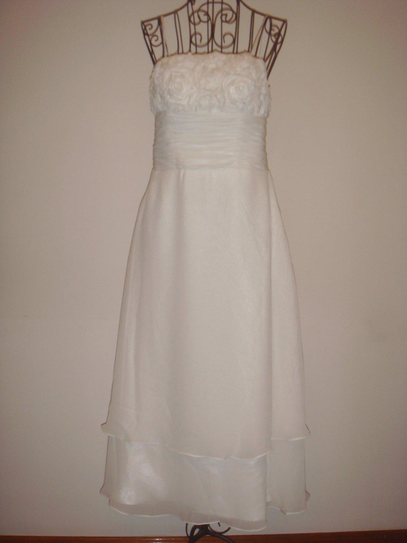 FWL0002 Lace-up Wedding Dress