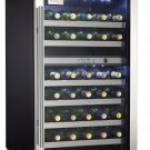 Danby 38 Bottle Wine Cooler - Black Cabinet with SS Door Frame - DWC114BLSDD