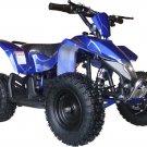 MotoTec 24v Mini Quad Ride On ATV V3 - Battery Powered - MT-ATV