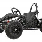 MotoTec 48v 1000w Off Road Go Kart - MT-GK-01 - Black