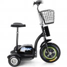 MotoTec Electric Trike 48v 500w - Personal Transporter Scooter - MT-TRK-500