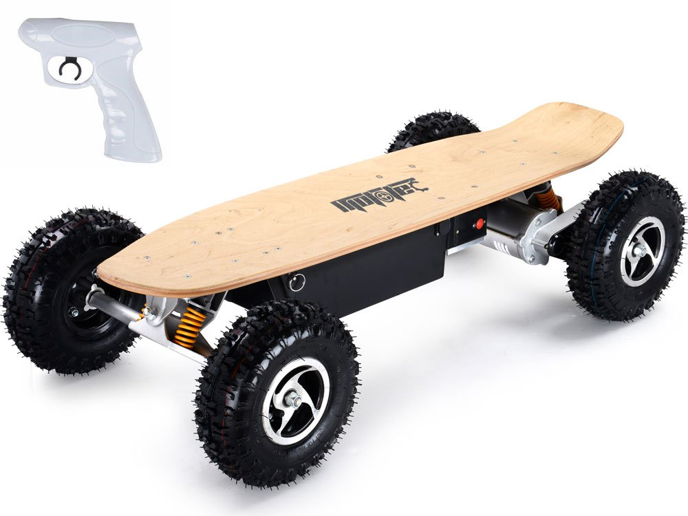 MotoTec 1600w Dirt Electric Skateboard - MT-SKT-1600