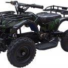 MotoTec 24v Mini Quad Ride On ATV V4 - Battery Powered - MT-ATV4